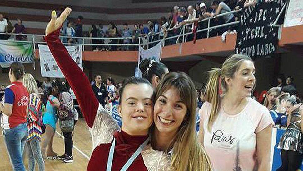 Felicitas Herrera, campeona nacional de patín artístico