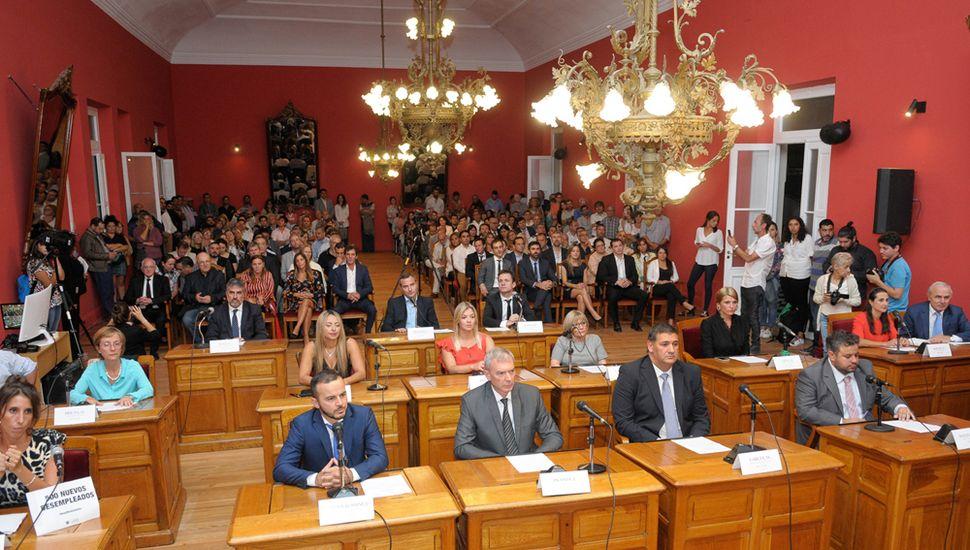 Sesiona el Concejo Deliberante.