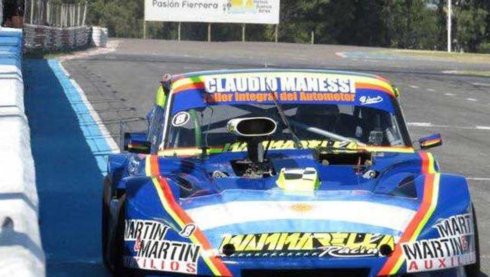 Un buen fin de semana completó con el Ford, en el autódromo