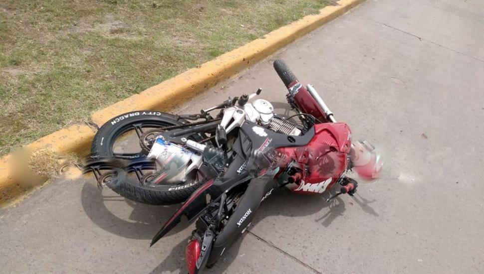 La víctima conducía una Honda Titán CG 150c.c.