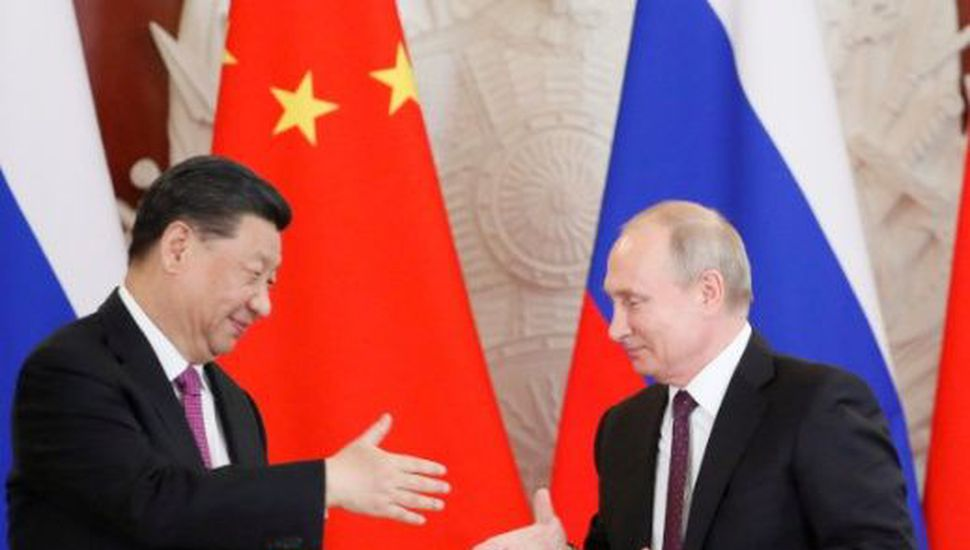 Los líderes de China y Rusia estrecharon su relación