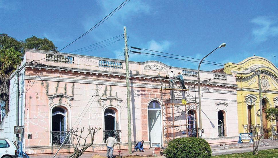 Estado previo del Palacio Municipal de General Pinto.