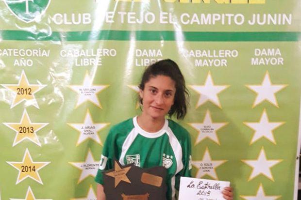 """En Damas libres fue ganadora Carina Lucero, de """"El campito"""" de Junín."""