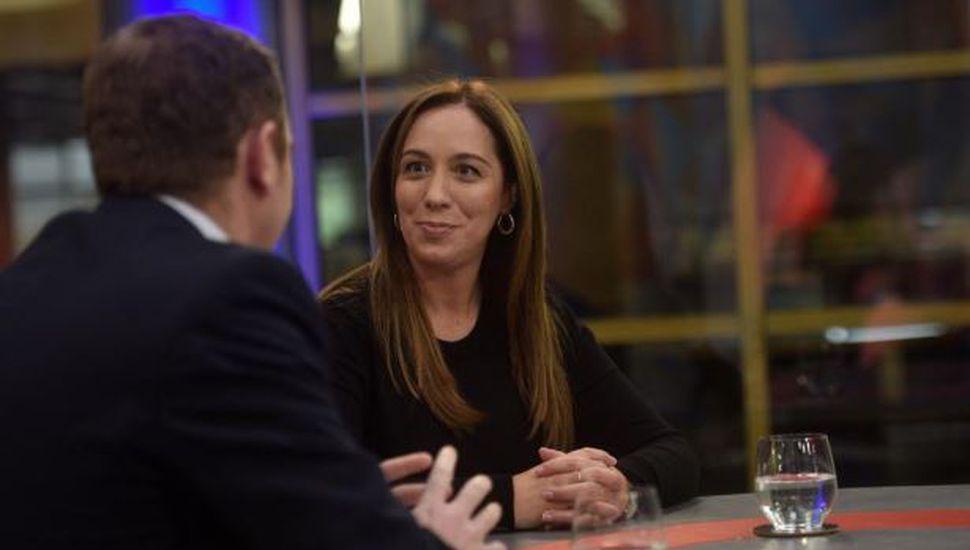 """María Eugenia Vidal, sobre el decálogo que el Gobierno envió a la oposición: """"Espero que Cristina Kirchner lo firme"""""""