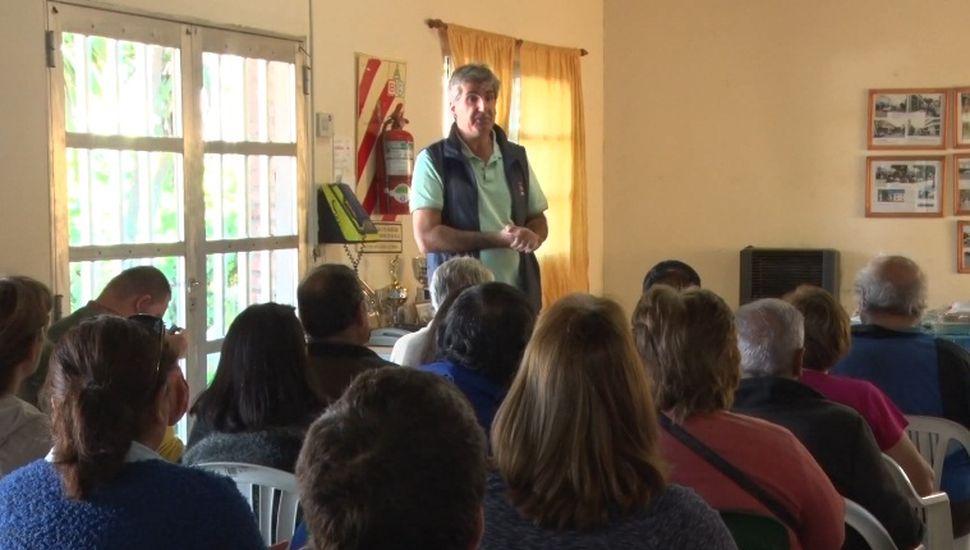 Pro huerta: continúan las capacitaciones para los vecinos de Rojas