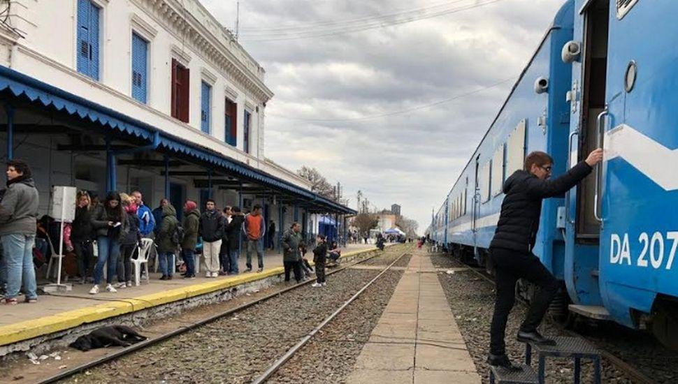 El tren sanitario llegó a Chacabuco