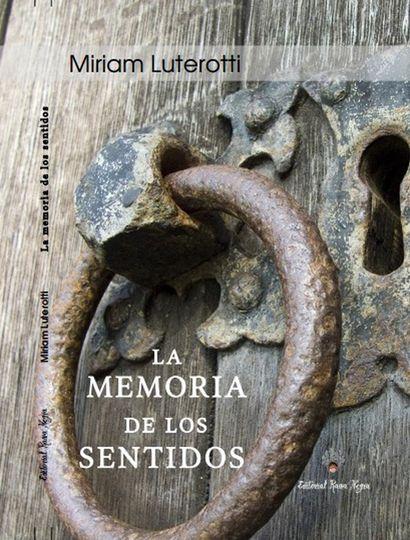 """Tapa de """"La memoria de los sentidos""""."""