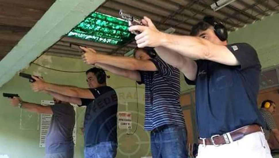 Hoy habrá un torneo de pistola FBI en las pedanas del Tiro Federal de Junín.