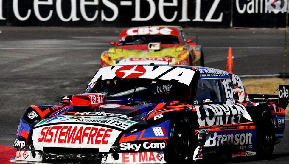 """Matías Rossi se quedó con la """"pole position"""""""
