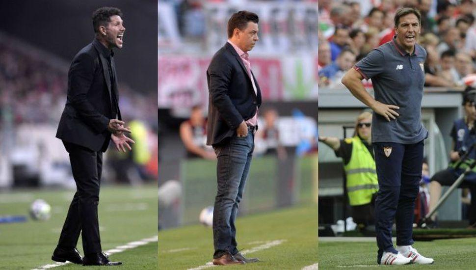 Simeone, Gallardo y Berizzo, entre los 10 mejores entrenadores