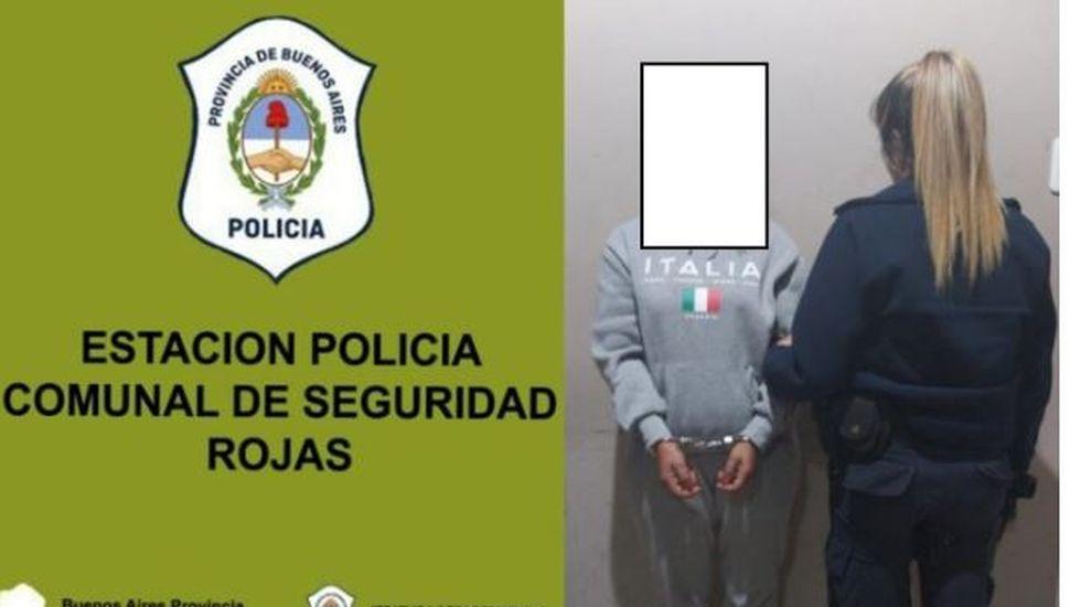 Una mujer fue detenida por tenencia de armas