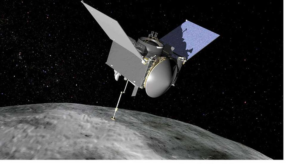 Una sonda de la Nasa  investiga un asteroide