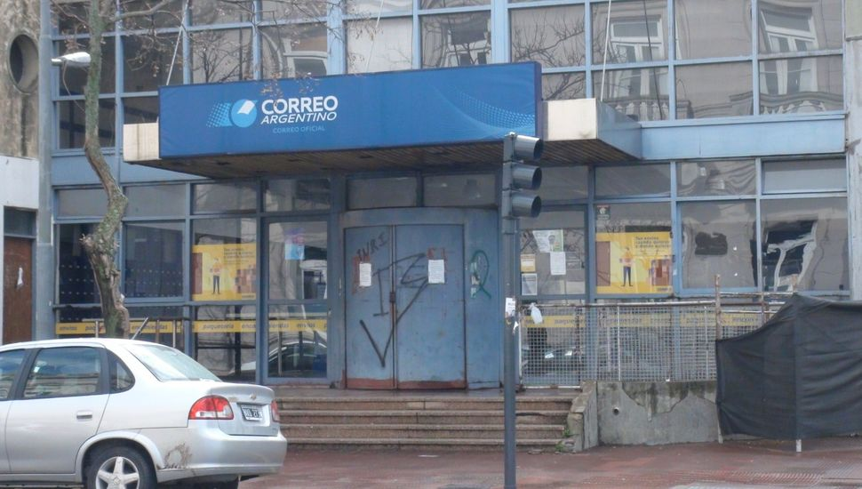 Cerró la sucursal del Correo Argentino