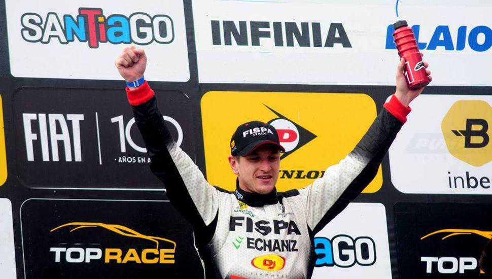 Franco Girolami se impuso en Termas de Río Hondo, con el Mitsubishi Lancer.