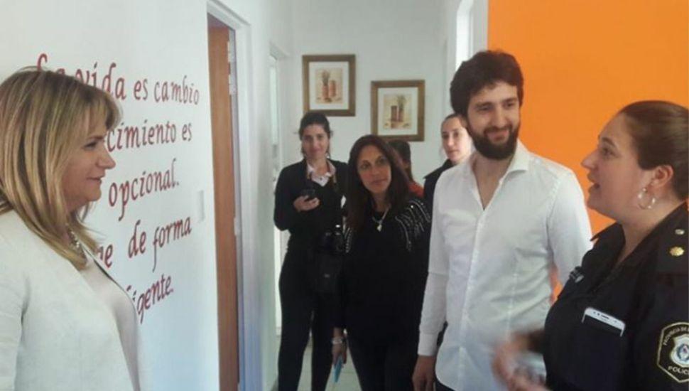 El senador Leandro Blanco visitó General Arenales