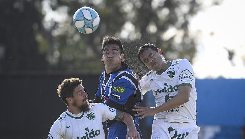 Federico Vismara y Lucas Landa, titulares en el choque de hoy.