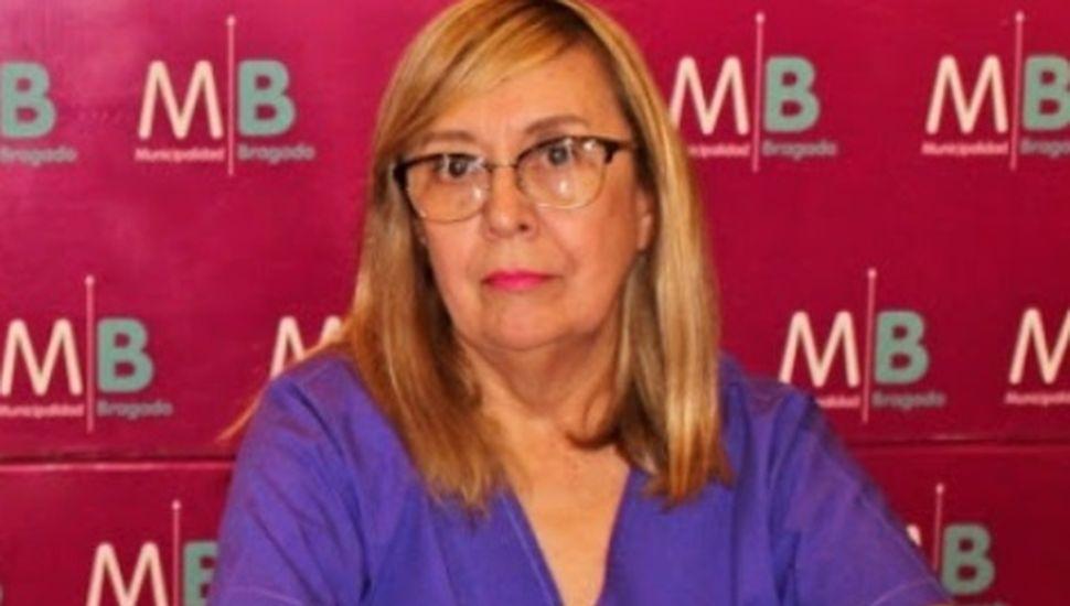 Mónica Pussó, secretaria de Salud de Bragado.