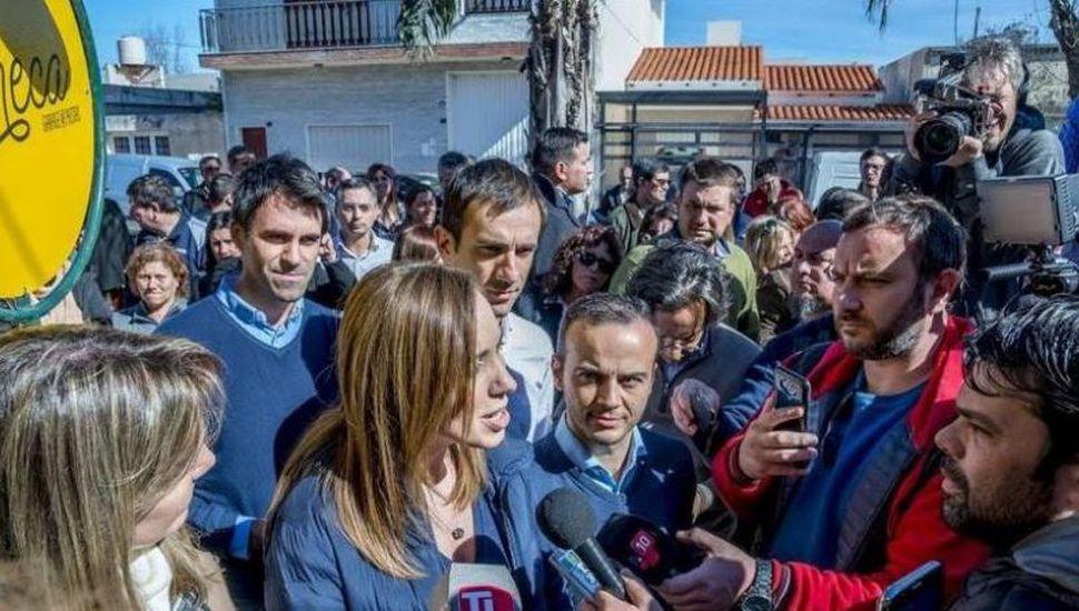 Eugenia Vidal visita Junín y Arenales