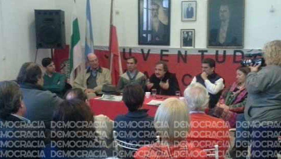 Dirigentes y referentes de la Cuarta Sección Electoral  del radicalismo se reunieron con Ricardo Alfonsín