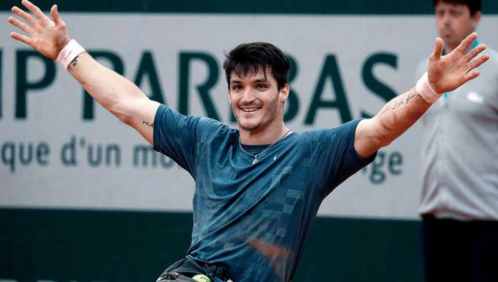 Gustavo Fernández llegó a una nueva final de Grand Slam, en Roland Garros.
