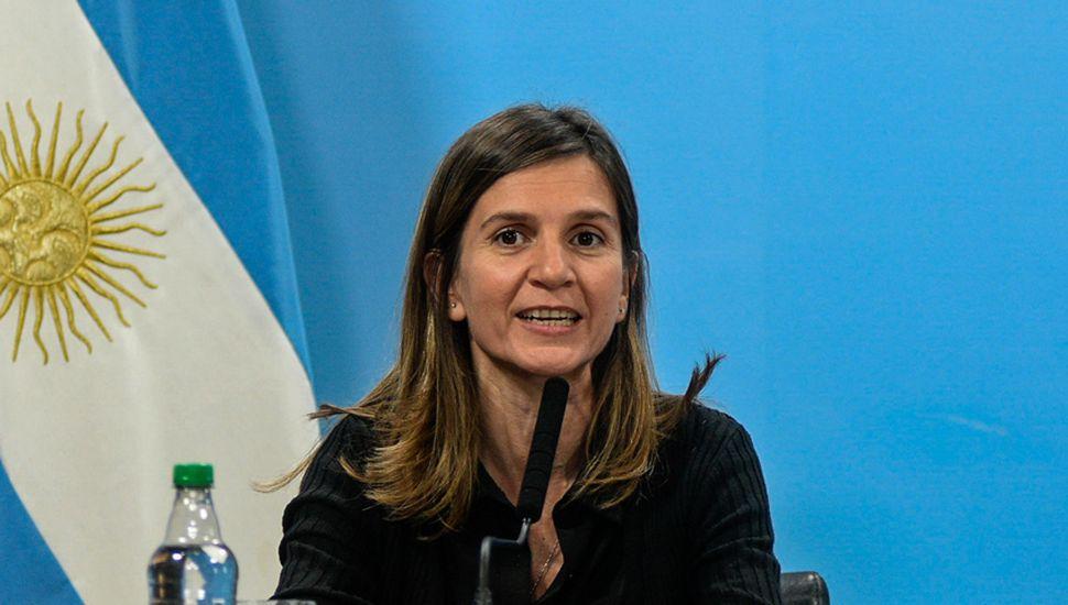 Fernanda Raverta, directora ejecutiva de Anses.