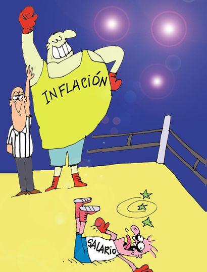 El 93% asegura que este año el salario perdió contra la inflación