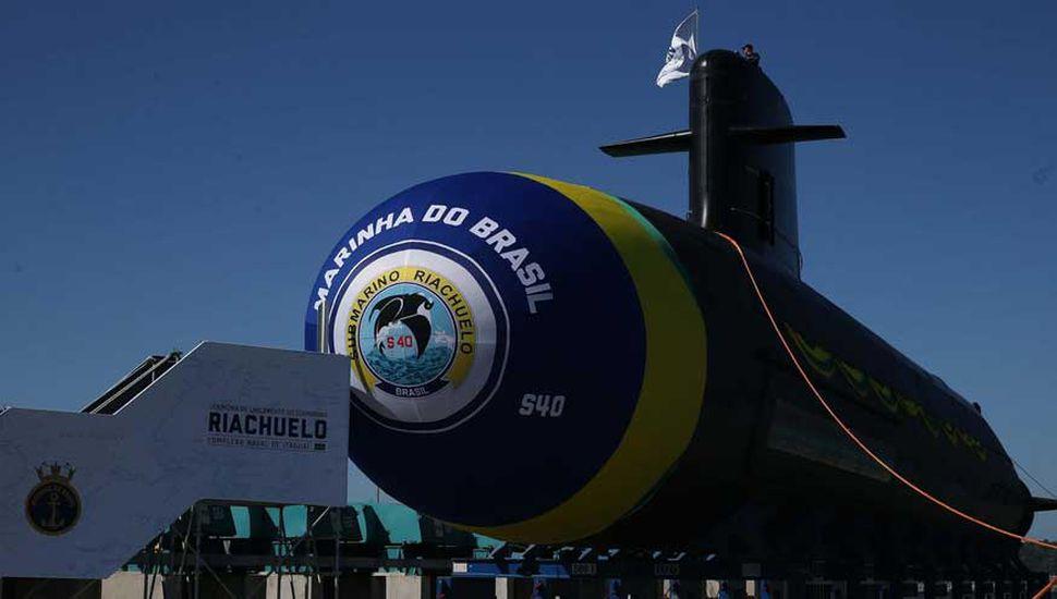 Curiosidad regional por un nuevo submarino brasileño