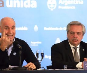 Alberto Fernández y Rodríguez Larreta