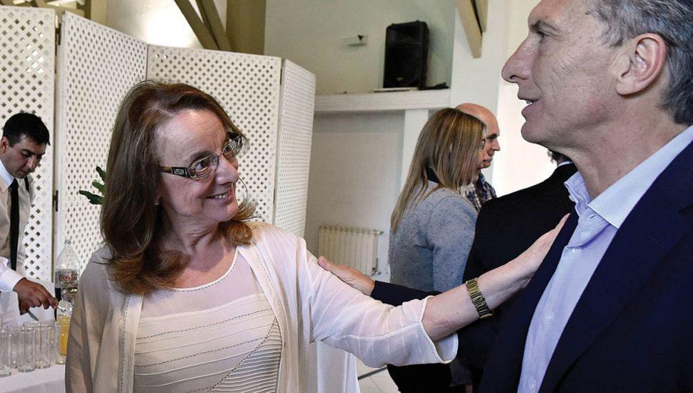 Alicia Kirchner anunció que pedirá una reunión con Mauricio Macri