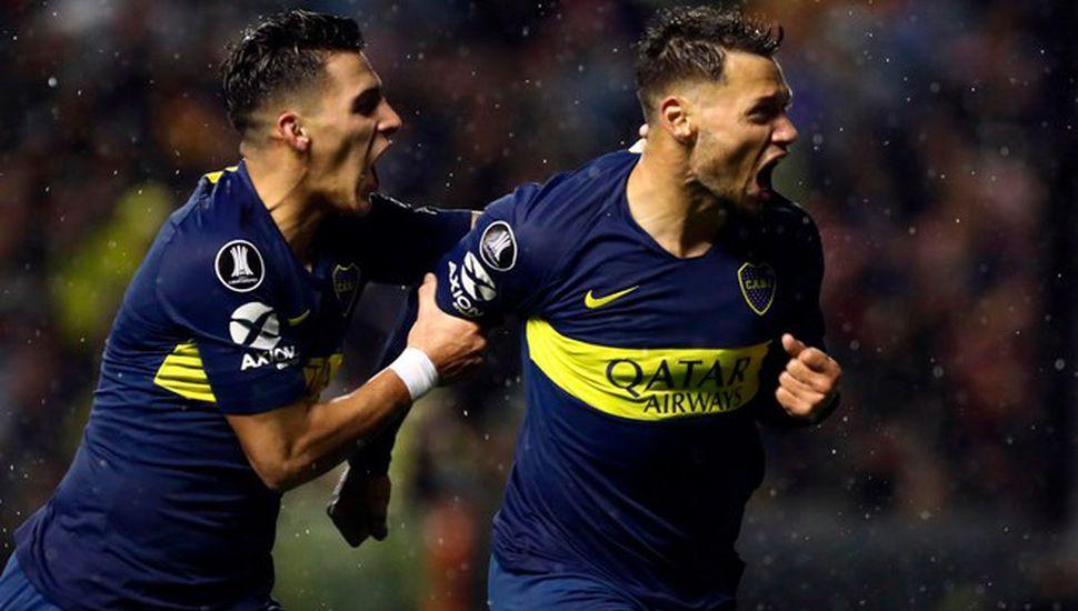 Boca puso un pie en los cuartos de final de la Copa