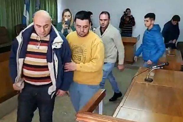 Tras conocerse la sentencia, se llevan preso a Lucero.