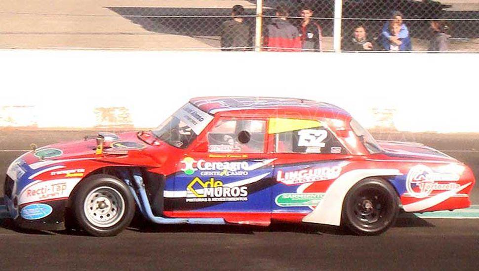 Federico Capelli, piloto juninense que se ubica sexto en el campeonato de la categoría Turismo Promocional Clase 1.