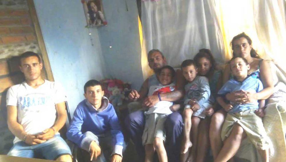 La familia recuerda cada día a Camila.