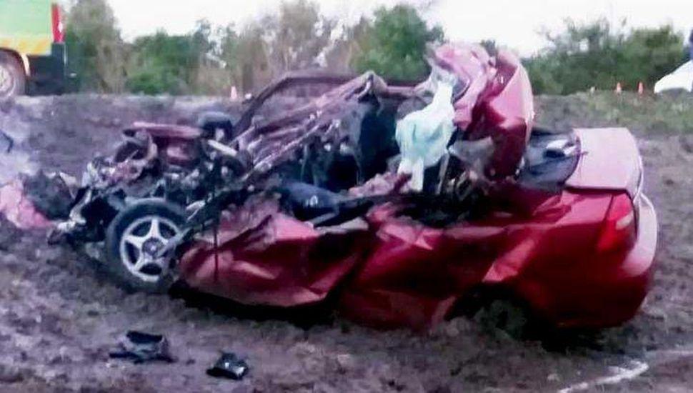 Violento accidente en Ruta 5: murieron tres personas