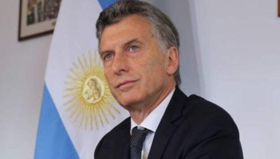 """Mauricio Macri afirmó: """"El riesgo país sube porque en el mundo hay miedo de que los argentinos quieran volver atrás"""""""