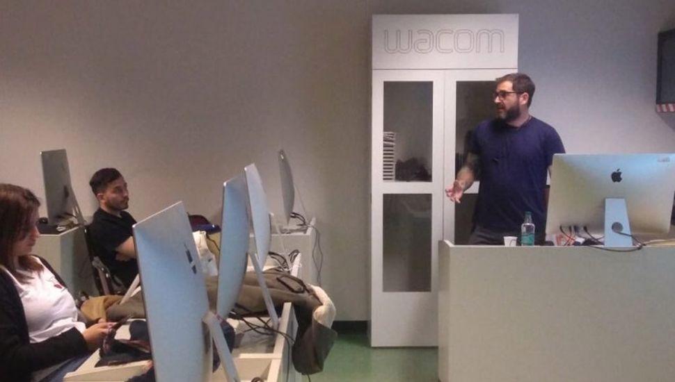 Invitado a dar una charla en la clase de Diseño e Interacción de la UADE.