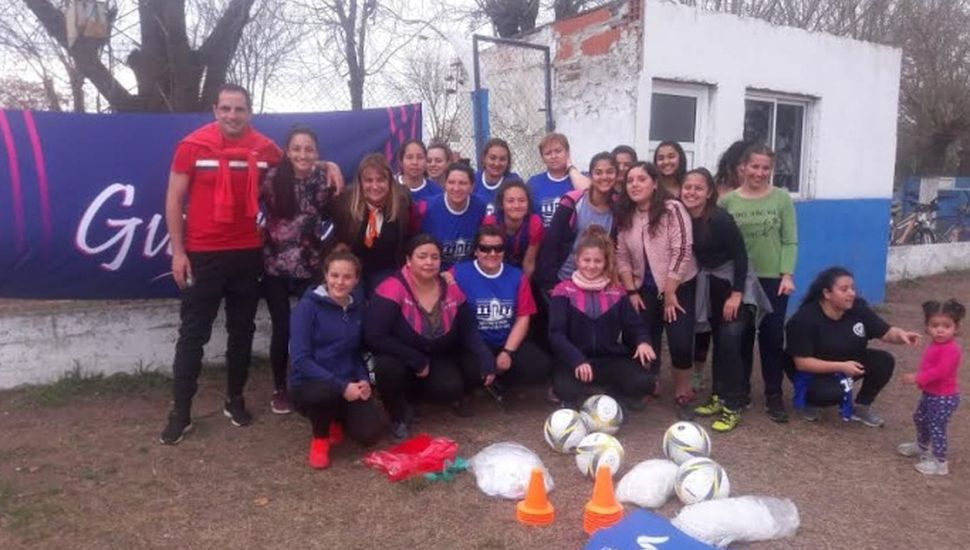 Crece el fútbol femenino en General Arenales