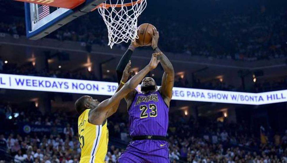 Un pasaje entre Lakers y Celtics.