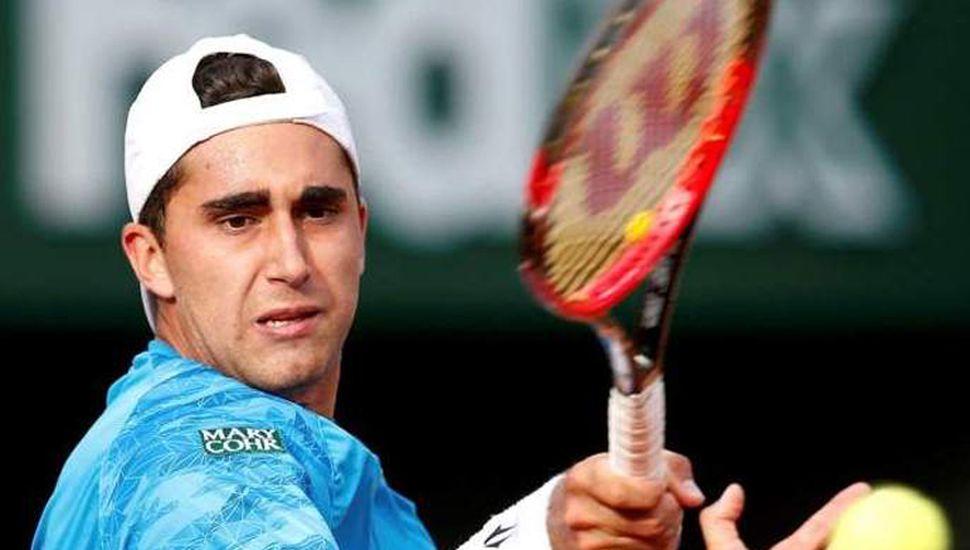 El tenista argentino Facundo Argüello sigue en carrera tras superar a Baldi.