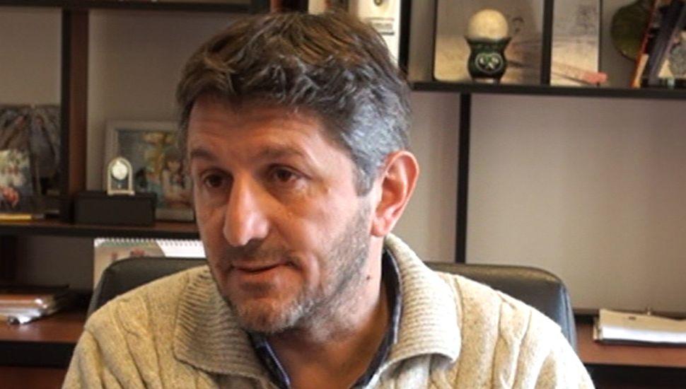Matías Di Camillo, titular de Di Camillo Maquinarias Agrícolas.