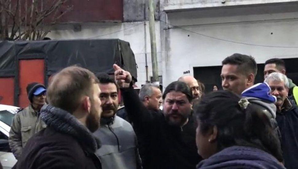 Otero apuntó a un concejal  de Ferraresi  por el escrache