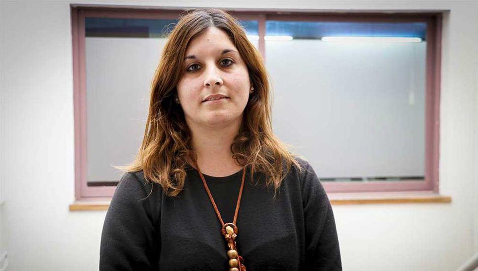 Jorgelina Meccia, responsable del censo agropecuario.