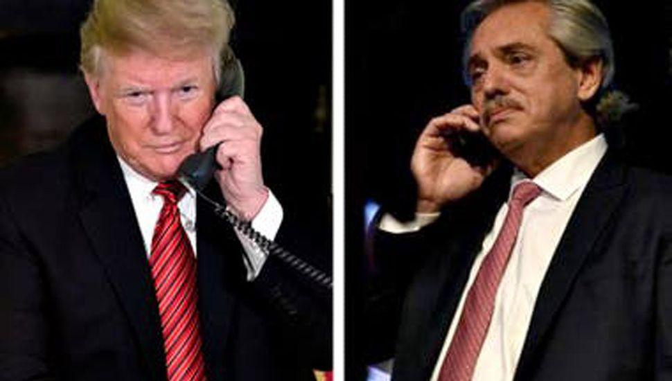 Trump promete apoyo a la Argentina ante el Fondo Monetario Internacional