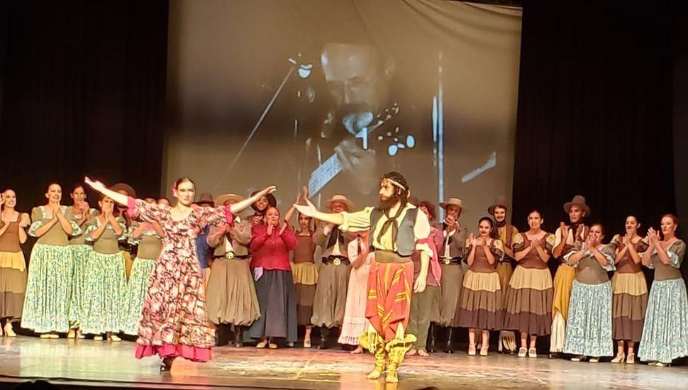 El ballet Tierra Madre organizó el evento junto a Oreste Lapadula.