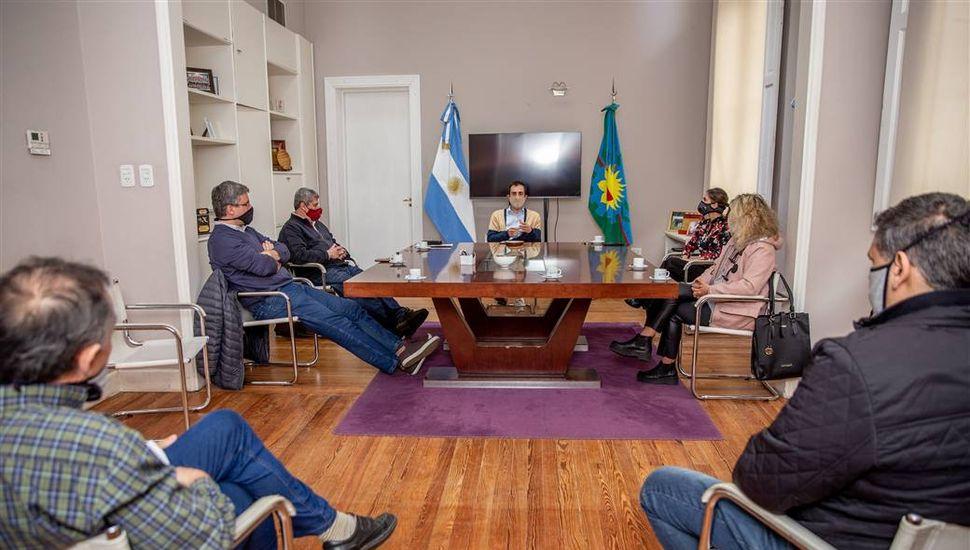 Petrecca anunció la creación de la Agencia Municipal de Tierras y Vivienda