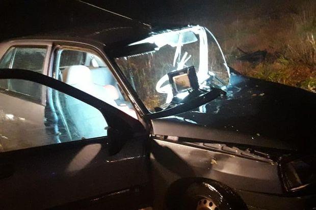 Accidente en Ruta 31