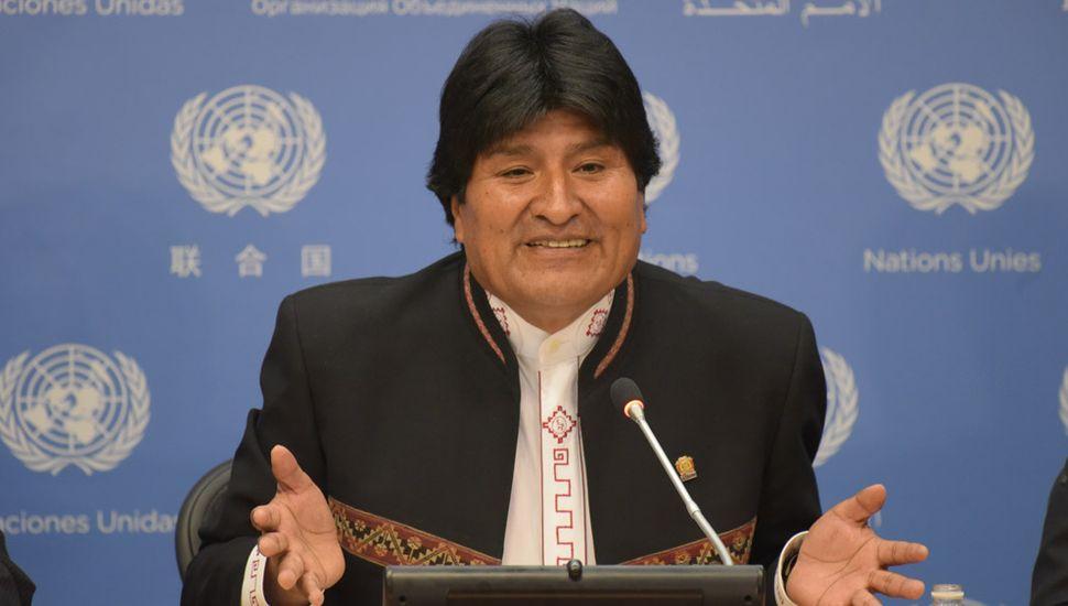 """Morales fue acusado por """"crímenes de lesa humanidad"""" en La Haya"""