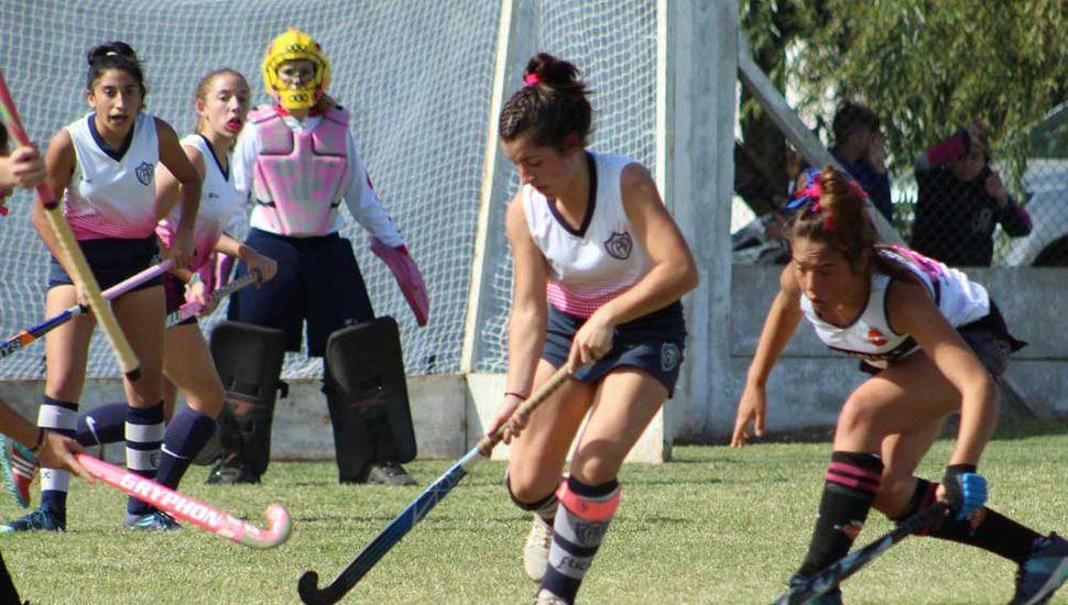 Tres partidos intensamente disputados se jugaron el sábado pasado en instalaciones del C.A.P.