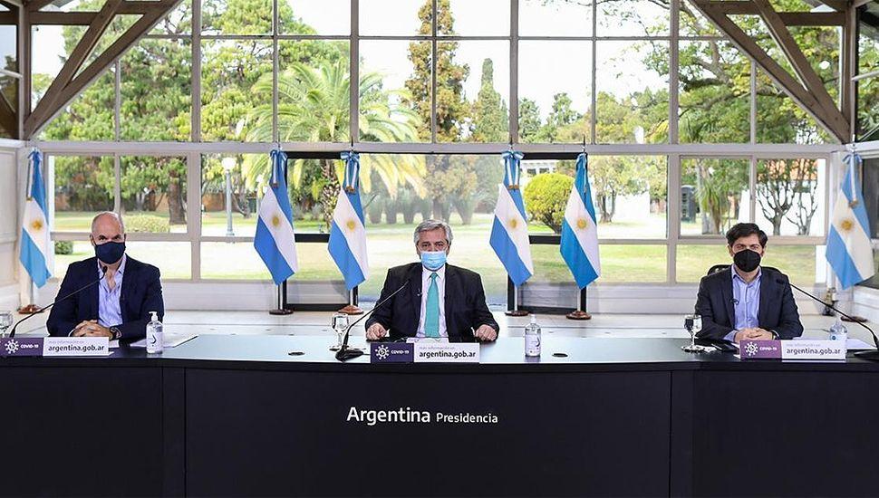 """Alberto Fernández pidió """"más cuidado"""" y extendió la cuarentena hasta el 16 de agosto"""