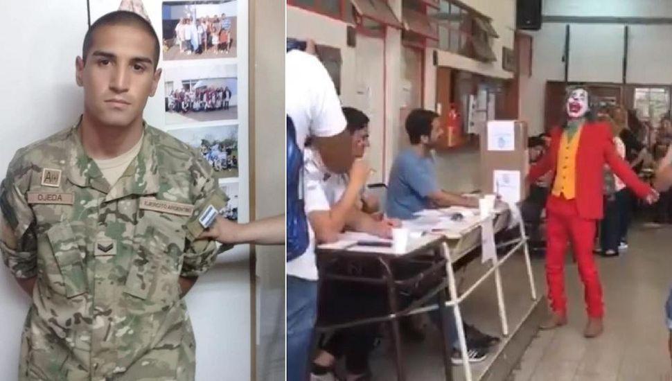 """El voto de """"El Guasón"""", un cabo falso y un candidato sin DNI: las perlitas de las elecciones"""